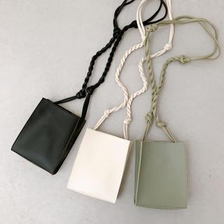 TODAYFUL - Eco Leather Square bag / black
