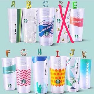 スターバックスコーヒー(Starbucks Coffee)の3点セット!台湾スターバックス リユーザブルカップ エコカップ ドリンクカップ (その他)