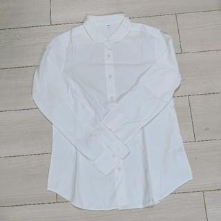 MUJI (無印良品) - 無印良品 丸襟ブラウス M