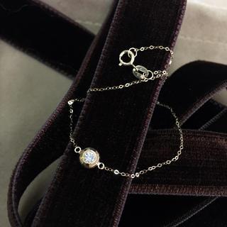 K18 ダイヤモンド ミラー ブレス