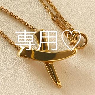 Tiffany & Co. - ティファニー ♡パロマピカソ♡ネックレス♡k18♡