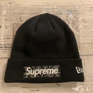 Supreme - Supreme New Era Box Logo Bandana Beanie