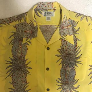 AVANTI(アヴァンティ)SILK100%半袖アロハシャツ(シャツ)
