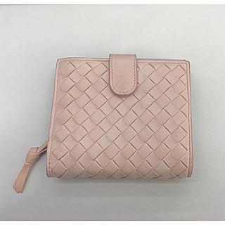 Bottega Veneta - ☆✴︎ ボッテガヴェネタ 二つ折り財布 ベビーピンク✴︎☆