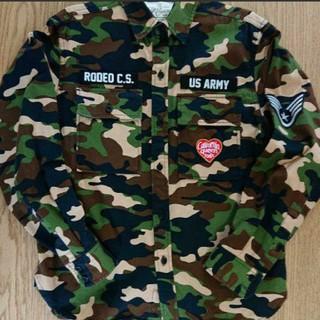 ロデオクラウンズワイドボウル(RODEO CROWNS WIDE BOWL)のRCWB☆ミリタリーシャツ(シャツ/ブラウス(長袖/七分))
