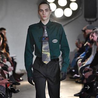 JOHN LAWRENCE SULLIVAN - Xander Zhou 18aw ネクタイシャツ
