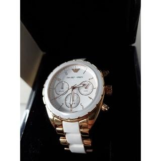 エンポリオアルマーニ(Emporio Armani)の美品 レディース エンポリオ・アルマーニ AR5942(腕時計)