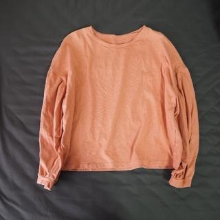 メルロー(merlot)の長袖Tシャツ ピンク(Tシャツ(長袖/七分))
