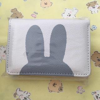 ミッフィー  パスケース付き 三つ折り ウォレット 財布
