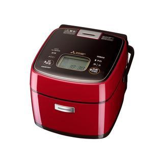 ミツビシデンキ(三菱電機)の三菱IHジャー炊飯器0.63L3.5合五重全面加熱炊きNJ-SEA06-R新品(炊飯器)