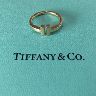 ティファニー(Tiffany & Co.)のティファニー Tワイヤー  リング k18(リング(指輪))