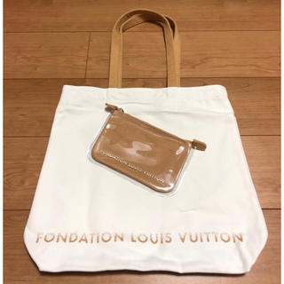 LOUIS VUITTON - パリ限定 フォンダシオン ルイヴィトン トート+ポーチセット ルイヴィトン美術館