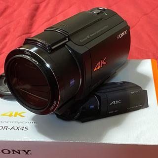 SONY - SONY 4K ハンディカム FDR-AX45(B)