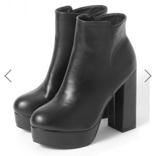 GRL - ブーツ サイドゴア 黒 ショートブーツ