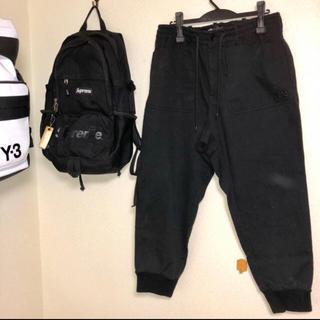 ワイスリー(Y-3)のY-3 スウェットパンツ ブラック (サルエルパンツ)