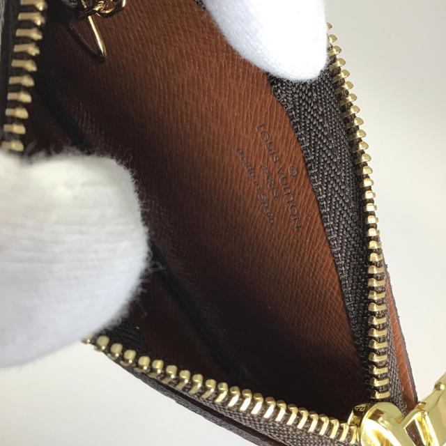 LOUIS VUITTON(ルイヴィトン)のルイ・ヴィトン ポシェットクレ M62650 コインケース 小銭入れ モノグラム レディースのファッション小物(コインケース)の商品写真