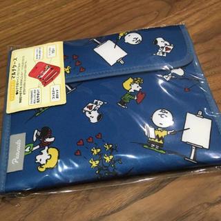 スヌーピー(SNOOPY)のスヌーピー マルチケース ジャバラタイプ 母子手帳ケース(母子手帳ケース)