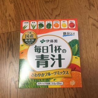イトウエン(伊藤園)の伊藤園 毎日1杯の青汁 さわやかフルーツミックス(青汁/ケール加工食品)