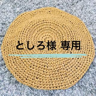 ロペピクニック(Rope' Picnic)のタグ付き未使用品 ロペピクニック ベレー帽(ハンチング/ベレー帽)