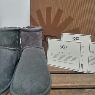 アグ(UGG)のUGG アグ クラシックミニ US8 灰(ブーツ)