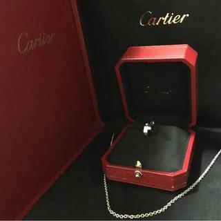 Cartier - 美品 Cartierラブチャームネックレス