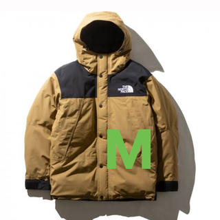 THE NORTH FACE - north face mountain down jacket M