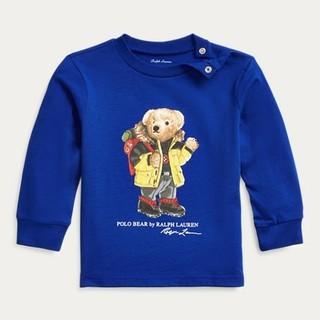 Ralph Lauren - Ralph Lauren パーカー ベア コットン ジャージー Tシャツ 18m