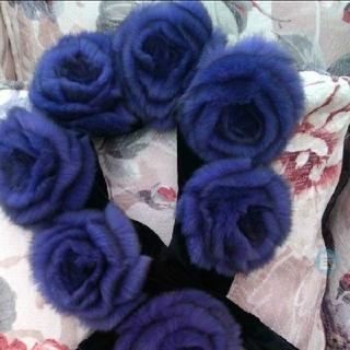 アビステ(ABISTE)の本日最終٩(♡ε♡ )۶❣新品未使用紫✕赤✕ブルー✕赤上質レッキスカメリア(マフラー/ショール)