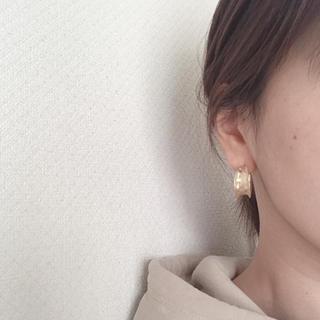 Ameri VINTAGE - import gold pierce( *ˊᵕˋ)✩︎‧₊イヤリング可♡