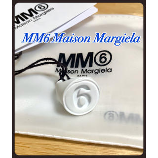 エムエムシックス(MM6)の【人気!完売品】セール中!mm6 メゾンマルジェラ ロゴ リング(リング(指輪))