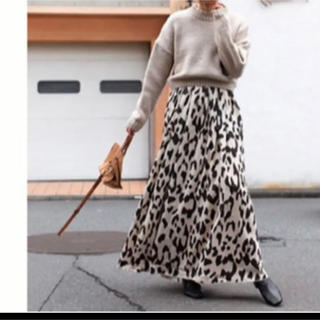 ルームサンマルロクコンテンポラリー(room306 CONTEMPORARY)のroom306contemporary レオパードスカート(ロングスカート)