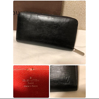 LOUIS VUITTON - 正規品 ルイヴィトン エピ ジッピーウォレット ノワール 中古