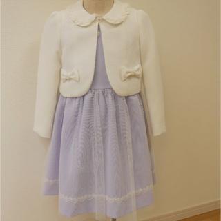 サンカンシオン(3can4on)の入学式 女の子 フォーマルワンピース120(ドレス/フォーマル)