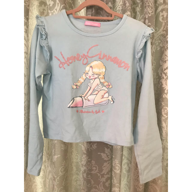 Honey Cinnamon(ハニーシナモン)のフリルトップス レディースのトップス(Tシャツ(長袖/七分))の商品写真