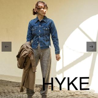 ハイク(HYKE)のHYKE デニムジャケット TYPE3(Gジャン/デニムジャケット)