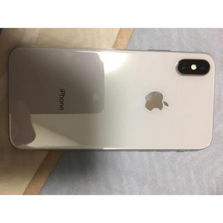 iPhone - iPhone x 256GB silver SIMフリー