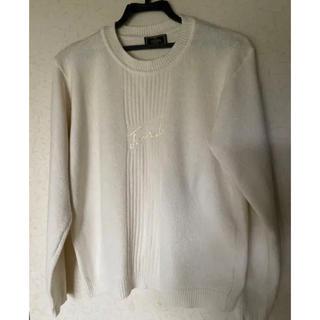 フェンディ(FENDI)の❣️FENDI男女兼用カジュアルニットセーター・ブランド名刺繍フリー(ニット/セーター)