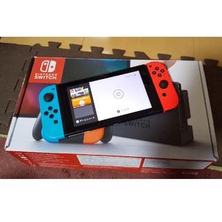 Nintendo Switch - Nintendo Switch 本体 ネオンブルーレッド