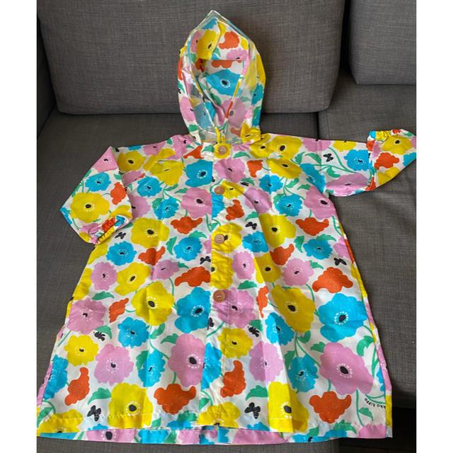 quatre saisons(キャトルセゾン)のkids  レインコート kukka hippo キッズ/ベビー/マタニティのこども用ファッション小物(レインコート)の商品写真