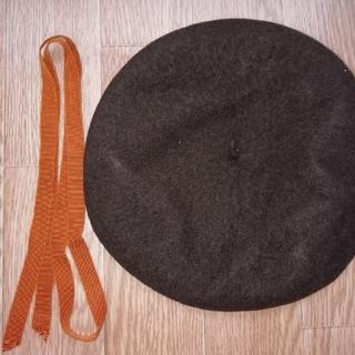 聖霊高校 ベレー帽 リボン(ハンチング/ベレー帽)