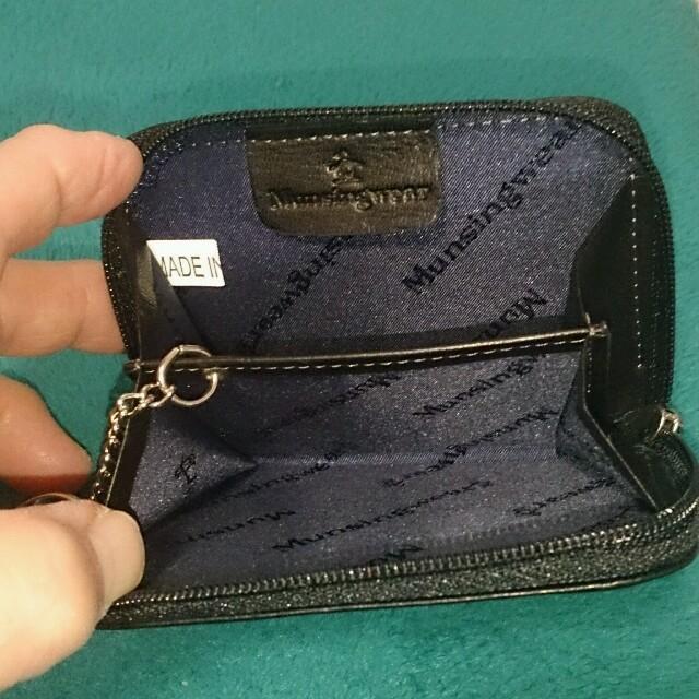 Munsingwear(マンシングウェア)のmunsingwearの小銭入れ値下げ! メンズのファッション小物(コインケース/小銭入れ)の商品写真