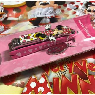 Disney - ディズニー リゾート限定 ミニー つめきり ☆ミニーマウス 爪切り チャームつき