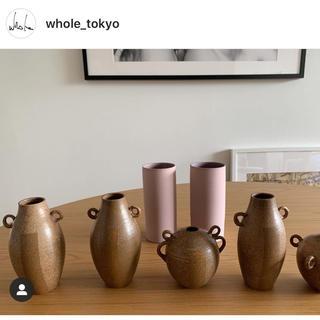 ロンハーマン(Ron Herman)の【最終価格】whole tokyo フラワーベース pink ロンハーマン(花瓶)
