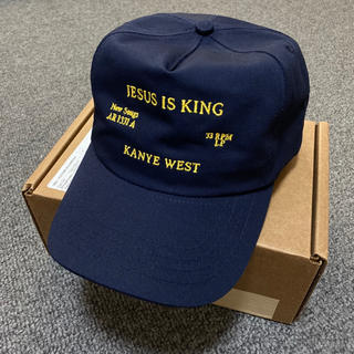 フィアオブゴッド(FEAR OF GOD)のJIK HAT jesus is king cap kanye west(キャップ)