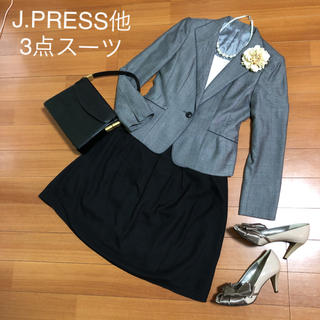 J.PRESS LADIES - 【美品】J.PRESS他 フォーマルスーツ3点セット セレモニー ママスーツ