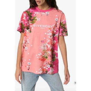 ジバンシィ(GIVENCHY)の 【新品】GIVENCHY PARIS フローラルオーバーサイズ Tシャツ XS(Tシャツ(半袖/袖なし))