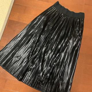 ZARA - 【ZARA】レザー調スカート