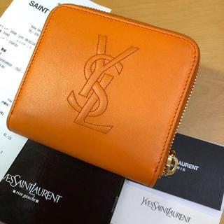 イヴサンローランボーテ(Yves Saint Laurent Beaute)の✳︎美品 コンパクト ミニ財布 二つ折り(財布)