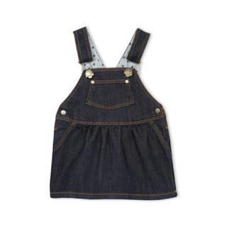 プチバトー(PETIT BATEAU)のar09様専用♡36m プチバトー デニムジャンパースカート(ワンピース)