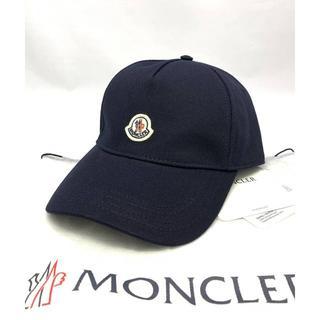 MONCLER - 新品 20SS モンクレール ワッペン ロゴベルト キャップ ネイビー
